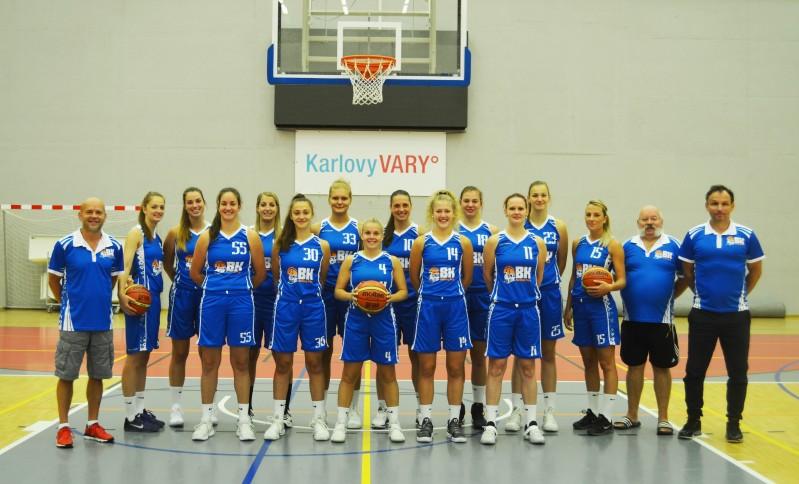 Foto: 1.ročník mezinárodního lázeňského basketbalového turnaje žen již v tomto prodlouženém víkendu