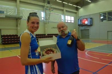 Zajímavý 1.ročník mezinárodního lázeňského basketbalového turnaje žen a třetí místo našeho týmu