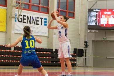 Z nedělního utkání extraligy žen v Ostravě se vezeme 18-ti bodové vítězství