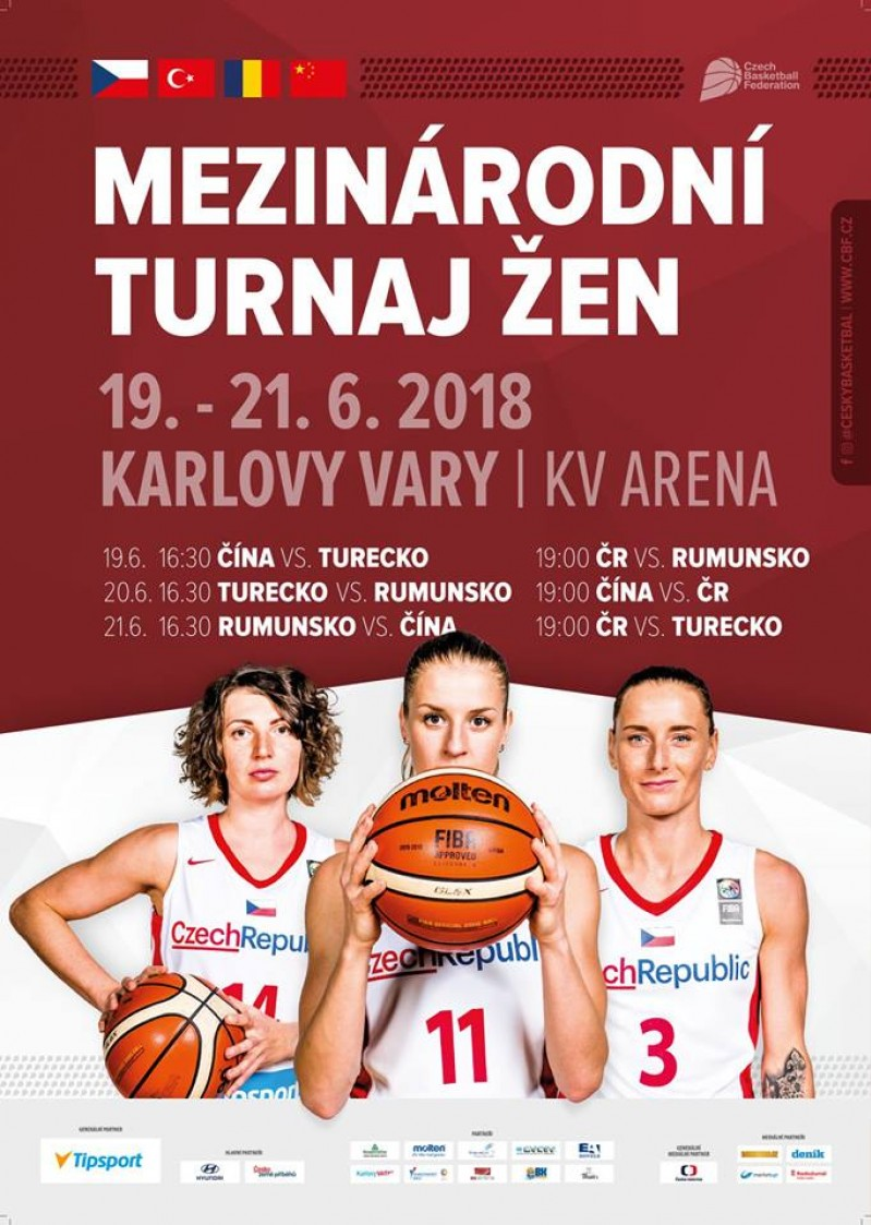 Foto: V červnu opět na špičkový ženský basket