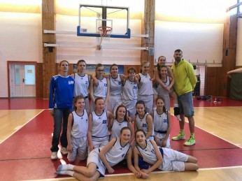 I poslední tým minižákyň, tentokrát kategorie U13 postoupil na NF ČR