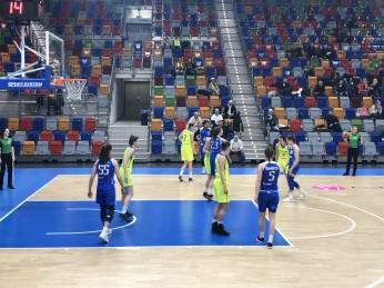 Čtvrtfinále play-off ŽBL : USK - K.Vary 1:0 a v pátek doma od 18 hod další pokračování.