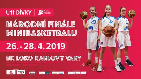 Přípravy na Národní finále v minibasketbalu U11 jsou v plném proudu