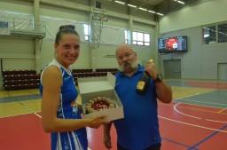 1. ročník Mezinárodního lázeňského basketbalového turnaje žen