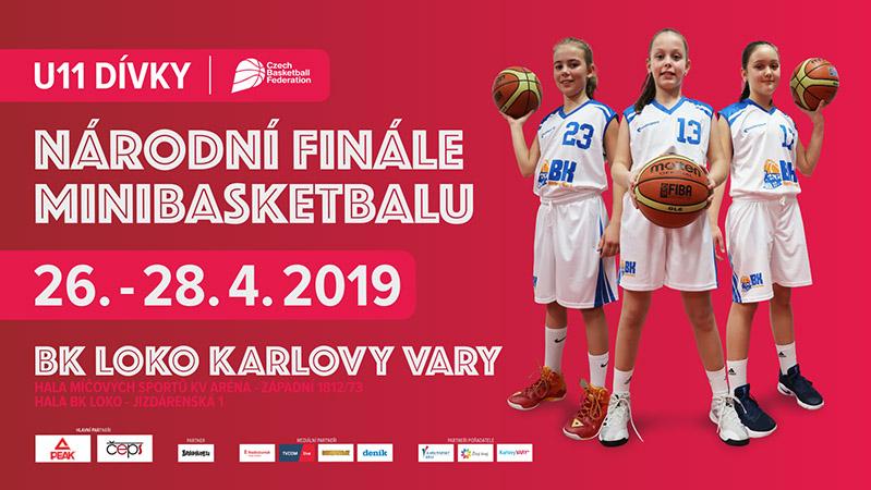 Národní finále minibasketbalu - U11 dívky